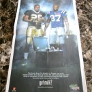 REGGIE BUSH and REGGIE WAYNE Super Bowl XLIV got milk? USA Today Newspaper Ad