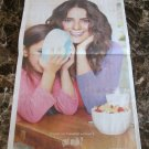 SALMA HAYEK got milk? USA Today Newspaper Ad 2012