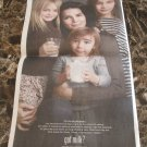 ANGIE HARMON ET AL got milk? USA Today Newspaper Ad 2011