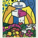 ABSOLUT BRITTO Vodka Magazine Ad (Romero Britto)