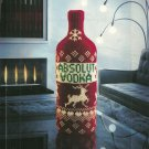 ABSOLUT COZY German Version Vodka Magazine Ad