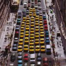 ABSOLUT CITRON Vodka Magazine Ad NEW YORK CITY TAXICABS