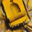 ABSOLUT CITRON Paint Tray Version Magazine Ad HARD TO FIND Canadian