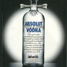 ABSOLUT CANNIBALE Italian Language Vodka Magazine Ad RARE!