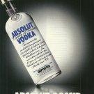 ABSOLUT GOSSIP Vodka Magazine Ad NOT EASY TO FIND!