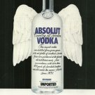 ABSOLUT HEAVEN Milk Bottle Vodka Magazine Ad - One of the First in the Campaign