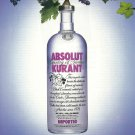 ABSOLUT HARVEST Vodka Magazine Ad