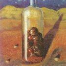 ABSOLUT McCORKLE Vodka Magazine Ad w/ Artwork by COREY McCORKLE Hard to Find!