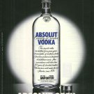 ABSOLUT OPEN German Vodka Magazine Ad RARE!