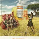 ABSOLUT PUNCH Vodka Magazine Ad Featuring LITTLE DRAGON