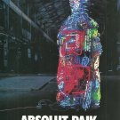 ABSOLUT PAIK Vodka Magazine Ad w/ Sculpture by Nam June Paik HARD TO FIND!
