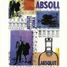ABSOLUT WARHOLA Vodka Magazine Ad RARE!