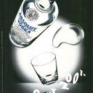 ABSOLUT 2001 British Vodka Magazine Ad NOT EASY TO FIND!