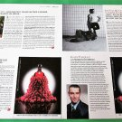 ABSOLUT RASPBERRI Small Size French Vodka Magazine Ads - 2 Pages - RARE!