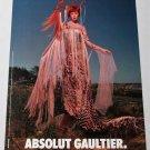 ABSOLUT GAULTIER (Midsommar Version) Vodka Magazine Ad by Jean-Paul Gaultier