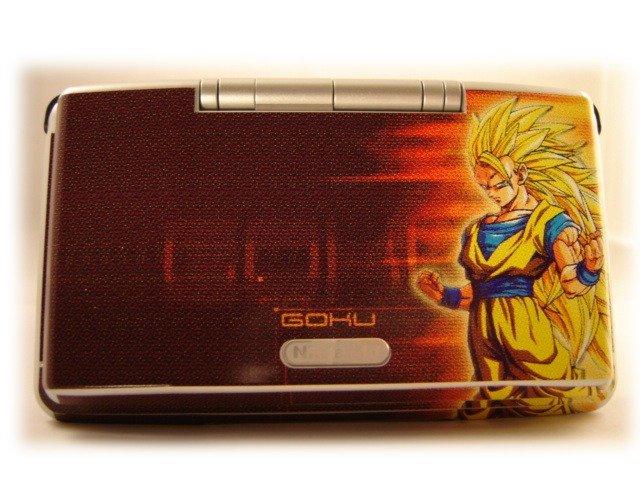 SSJ3 Goku Nintendo DS skin
