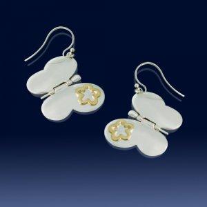 Butterfly earings