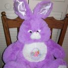 PURPLE EASTER BUNNY PLUSH