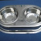 Pet Diner Set Stainless Steel $10.