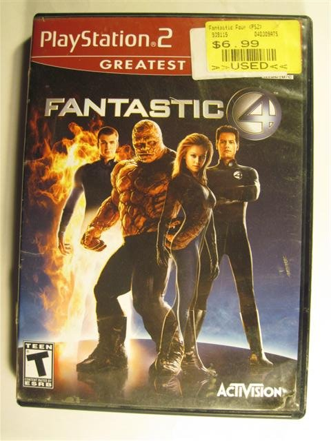 FANTASTIC FOUR PS2 PLAYSTATION 2 GAME