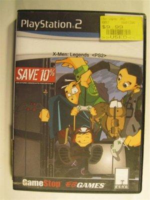 X-MEN LEGENDS game for Playstation 2 PS2