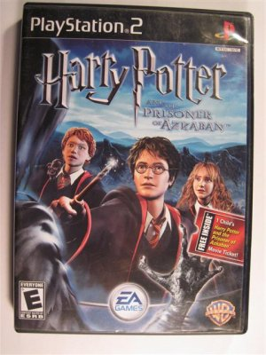 Harry Potter and the Prisoner of Azkaban PlayStation 2