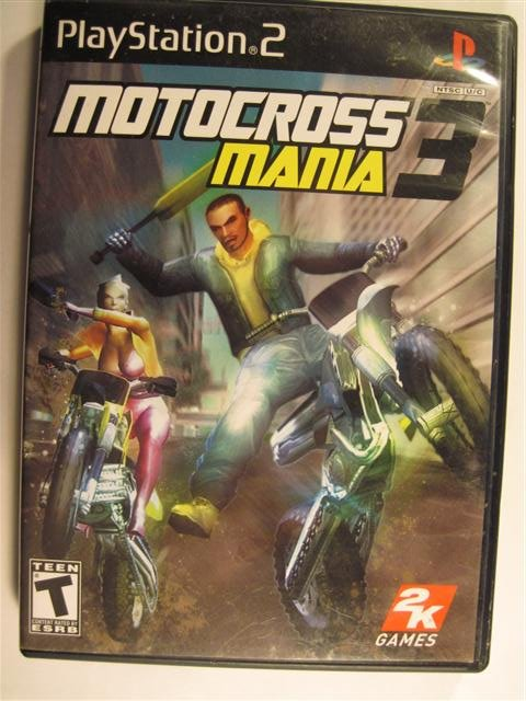 Motorcross Mania 3 Playstation 2 Game