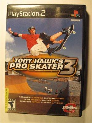 Tony Hawk's Pro Skater 3 Sony PlayStation 2 -  Jacket and instruction manual only � No Game