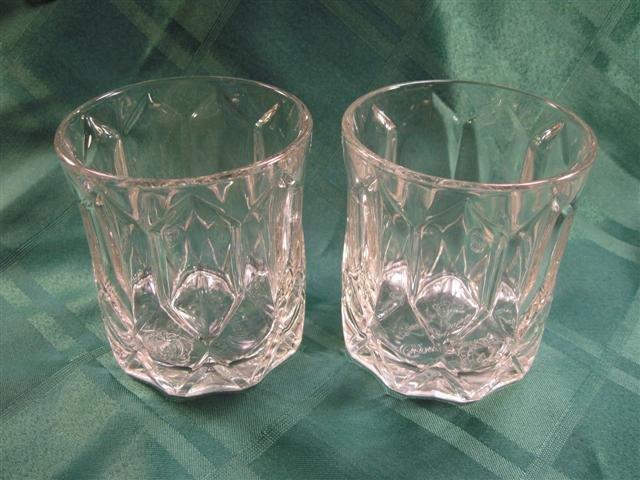 Crown Royal Tumbler/Bar Glasses (SET OF 2)
