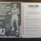 Lateral Thigh Trainer Manual