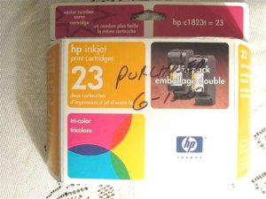HP Inkjet 23 Dated July 2003 � #012516