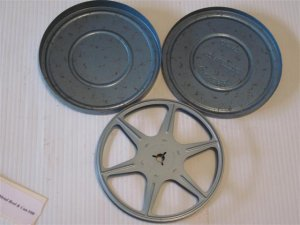 8mm Metal Reel & Can #08