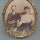 Antique Desk Top Photo Frame with Photo.