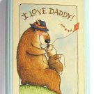 Vintage Hallmark – I Love Daddy! Wall Plaque 042613