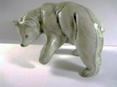 Polar Bear - Small Ceramic Polar Bear 051013