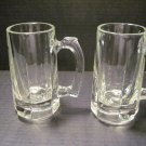 Libby Beer Mugs Two (2) - Vintage - Inv# 051613 Set #01