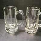 Libby Beer Mugs Two (2) - Vintage - Inv# 051613 Set #02