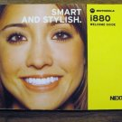 NEXTEL i880 Cell Phone Welcome Guide #1 072013