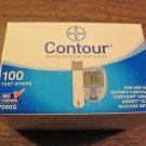 NEW Bayer Contour Blood Glucose Test Strips 100