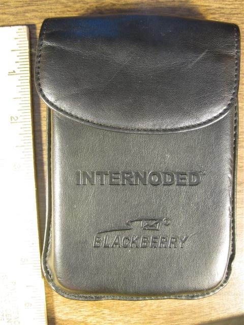 BlackBerry Real Leather Case Holster 072213