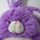 Purple Bunny Plush with Bendable Ears. – 010315