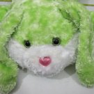 Large Green Bunny Rabbit Plush by Dan Dee #030615