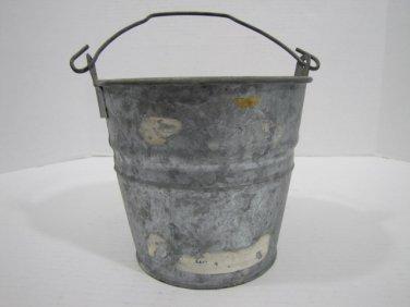 Galvanized Bucket Vintage #4 � 070916