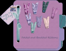 Folded and Bradded Ribbons