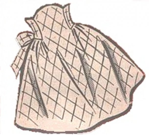 Vintage Apron 50s One Yard Fabric PDF Pattern No 2 Available in M-L-XL