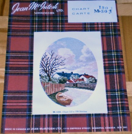 Jean McIntosh 4 Needlepoint Patterns