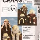 McCall 5731 Old Mr. and Miss Humpty Pattern UNCUT