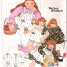 Vintage Pattern Butterick 5279 Betsey Johnson Child Dress Pinafore and Bloomers 80s Size 4
