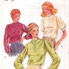 Vintage Pattern Butterick 3967 Miss Blouse 80s Size 14