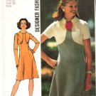 Vintage Pattern Simplicity 5400 Miss Dress 70s Size 14 UNCUT